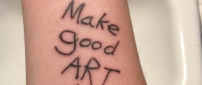 Make good art.